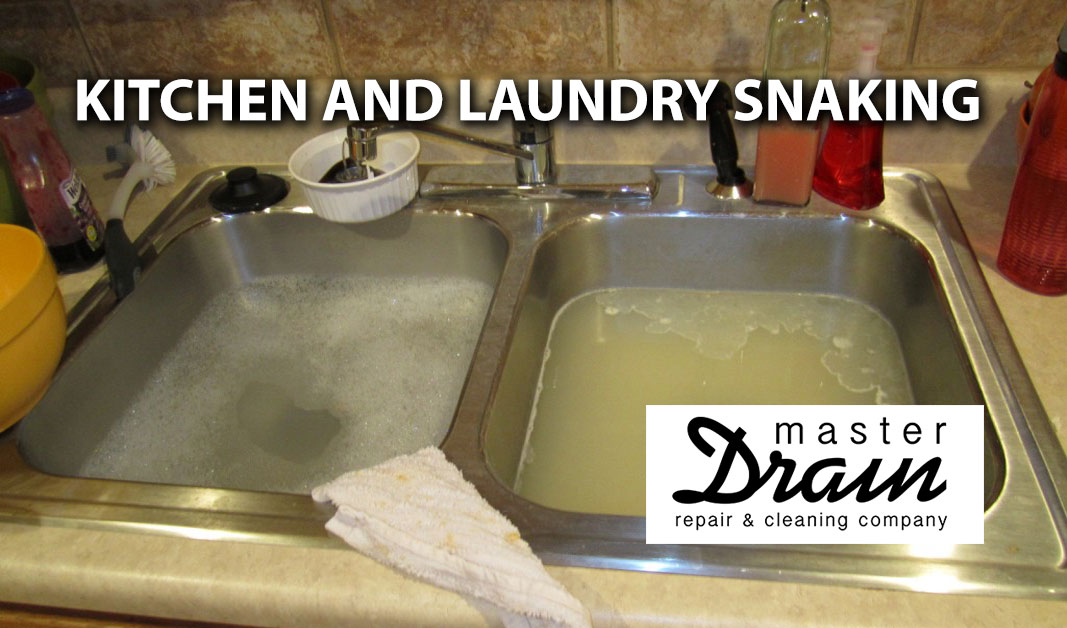 Kitchen and Laundry Snaking