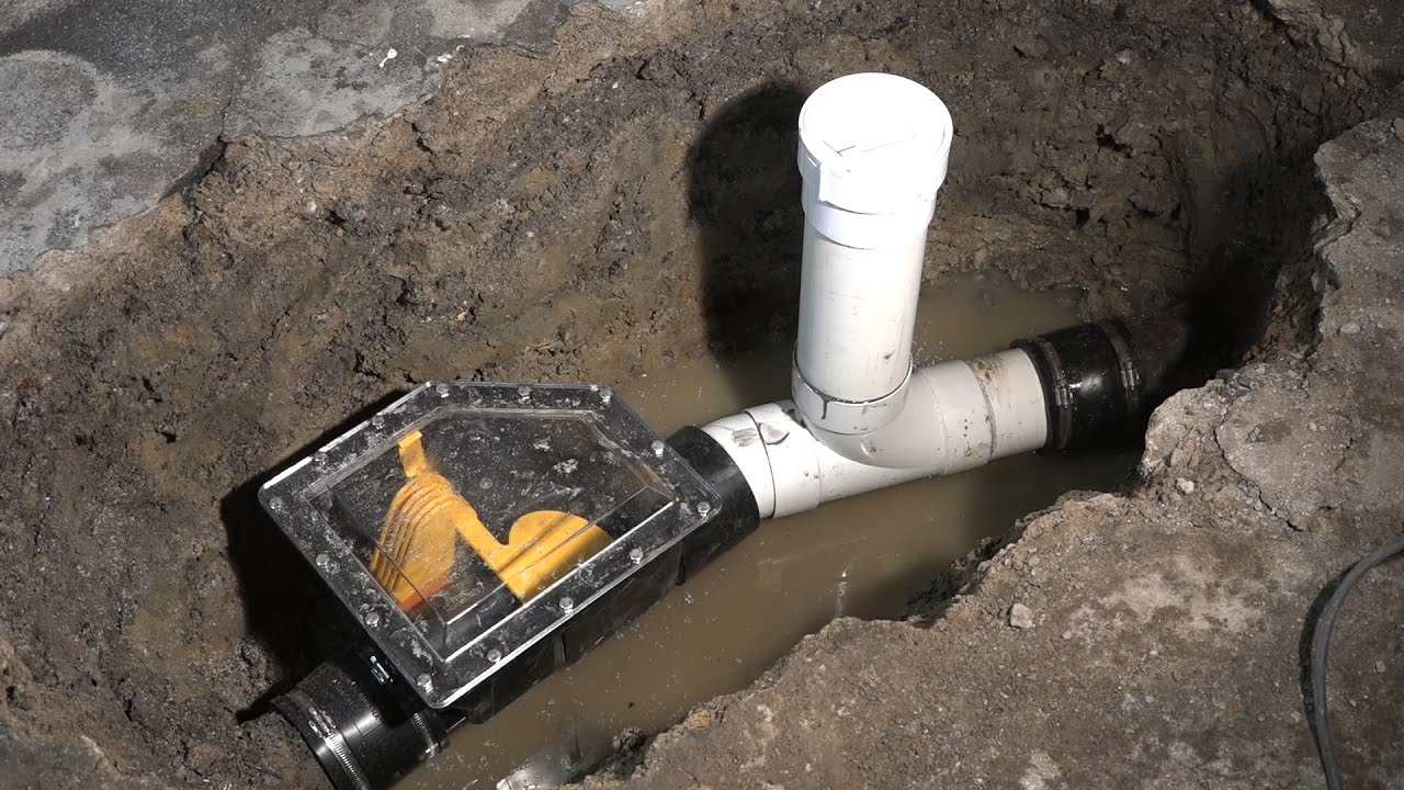 Sewer-Backwater-Valve Installation-2