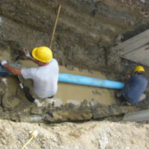 Drain Pipe Digging