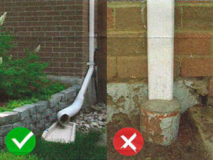 Get Disconnected - Downspout Disconnection Rebate Program